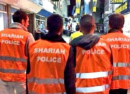 Muslim Police in Wuppertal Germany