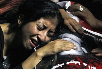 Egyptian Christian Grieving